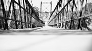 Engineering Framed Prints - 2 Cent Bridge Framed Print by Chad Tracy