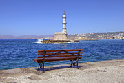 Mediterranean Framed Prints - Chania - Crete Framed Print by Joana Kruse