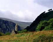 Faiths Art - Chapel Of Saint Kevin At Glendalough by The Irish Image Collection