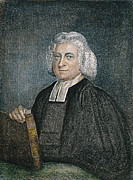 Methodist Prints - Charles Wesley (1707-1788) Print by Granger