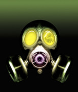 Embryo Framed Prints - Chemical Warfare, Conceptual Artwork Framed Print by Victor Habbick Visions