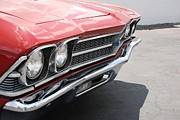 Red Chevy Chevelle Prints - Cherry Chevelle Print by Rob Hans
