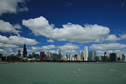 Chicago Prints - Chicago Skyline Print by Timothy Johnson