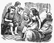 Whittle Prints - Children, 1873 Print by Granger
