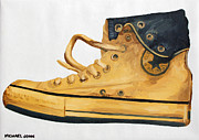 Converse Paintings - Chucks by Michael Ringwalt