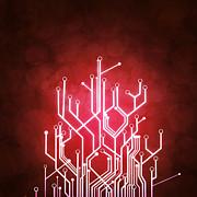 Circuit Board Print by Setsiri Silapasuwanchai