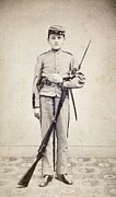 Bayonet Photos - Civil War: Soldier by Granger