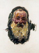 Self-portrait Photo Prints - Claude Monet (1840-1926) Print by Granger