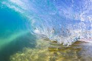 Swell Photos - Clear Blue Wave by Quincy Dein - Printscapes