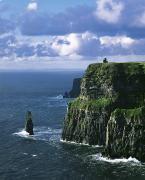 County Clare Posters - Cliffs Of Moher, Co Clare, Ireland Poster by The Irish Image Collection