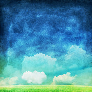 Write Prints - Cloud And Sky Print by Setsiri Silapasuwanchai