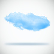 Cloudscape Digital Art Posters - Clouds Poster by Setsiri Silapasuwanchai