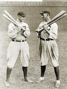 Chicago White Sox Posters - Cobb & Jackson, 1913 Poster by Granger