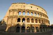 Exteriors Photo Posters - Coliseum. Rome Poster by Bernard Jaubert