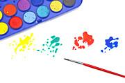 Color Splash Print by Joana Kruse