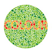 Computer Artwork Photos - Colour Blindness Test by David Nicholls