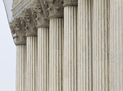 Netting Posters - Columns of the Supreme Court Poster by Roberto Westbrook