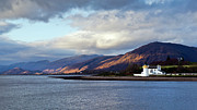 Argyll And Bute Framed Prints - Corran lighthouse Framed Print by Gary Eason