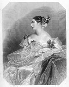 Countess Framed Prints - Countess Teresa Guiccioli Framed Print by Granger