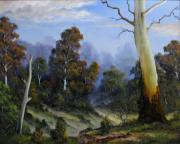 Landscapes Reliefs - Country View by John Cocoris