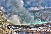 Volcano Prints - Crater Ijen Print by MotHaiBaPhoto Prints