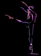 Dancer Paintings - Dancer by Jose Luis Reyes