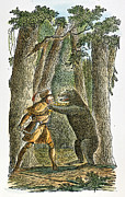 Destiny Metal Prints - Daniel Boone (1734-1820) Metal Print by Granger