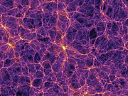 Simulation Prints - Dark Matter Distribution Print by Volker Springelmax Planck Institute For Astrophysics