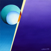Oil Drawings - Dawning  by Loraine LeBlanc