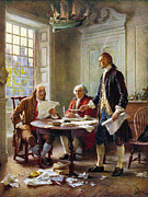 Declaration Of Independence Prints - Declaration Committee Print by Granger