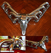 Halloween Sculptures - Deer Auto-Antlers 8 Point by TRUEGEARHEAD Team