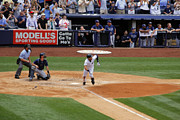 Jeter Photos - Derek Jeters 3000th hit 7 of 8 by James Jenks