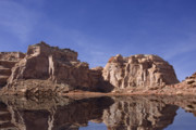 Southern Utah Prints - Desert Reflections Print by Mark Smith