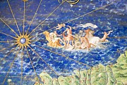 Myths Art - Detail Of 16th Century Map Of Liguria by Sheila Terry