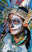 Daniel Prints - Dia de los Muertos - Day of the Dead 10 15 11 Procession Print by Robert Ullmann