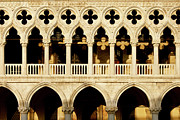 Piazza San Marco Framed Prints - Doges Palace Framed Print by Brian Jannsen