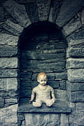 Masonry Art - Doll by Joana Kruse