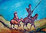 Romantic Art - Don Quixote  by Kevin Middleton