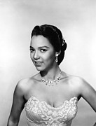 Diamond Earrings Framed Prints - Dorothy Dandridge, Ca. 1950s Framed Print by Everett