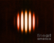 Aperture Prints - Double Slit Diffraction Pattern Print by Omikron