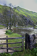 Stepping Stones Framed Prints - Dovedale Stepping Stones Framed Print by Darren Burroughs