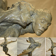 Miami Sculptures - Doves by Richard MacDonald