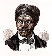 Negro Framed Prints - Dred Scott, African-american Hero Framed Print by Photo Researchers