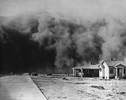 Natural Disaster Photos - Dust Storm, 1930s by Omikron