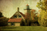 Old - Eagle Bluff Lighthouse by Joel Witmeyer