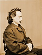 Edwin Booth Prints - Edwin Booth 1833-1893, American Actor Print by Everett