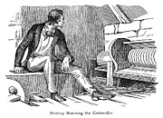 Cotton Gin Posters - Eli Whitney (1765-1825) Poster by Granger