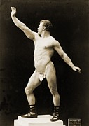 Weightlifter Prints - Eugen Sandow 1867-1925, German Born Print by Everett
