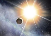 Exoplanet Photos - Exoplanet And Parent Star, Artwork by David Ducros