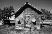 Stephen Mack Metal Prints - 2 Eyed Shed Metal Print by Stephen Mack